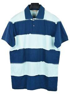 Galliano Stripe Collar T-Shirt