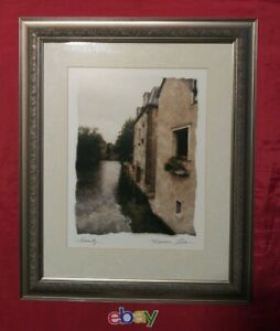 "Maureen Love Original Signed Art Print  ""SERENITY""  Framed EXCELLENT"