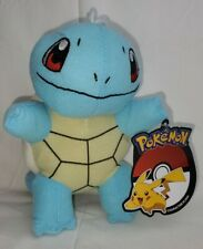 """Toy Factory 6"""" Squirtle Plush Pokemon - New with Official Tags"""