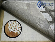 Area Rug Pad Non Skid Slip Underlay Nonslip Non-Slip 3x5, 5x8, 6x9