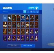 Fortnite Account RANDOM 10-250 skin