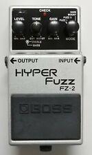 BOSS FZ-2 HYPER Fuzz Guitar Effects Pedal 1993 #77 DHL Express or EMS