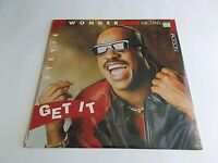 "Stevie Wonder Michael Jackson Get It 12"" Single 1988 SEALED Vinyl Record"