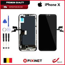 VITRE TACTILE + ECRAN LCD RETINA ASSEMBLÉ SUR CHASSIS POUR IPHONE X NOIR