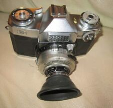 Vintage Zeiss Ikon Contaflex Synchro-Compur Slr 35mm Film Camera