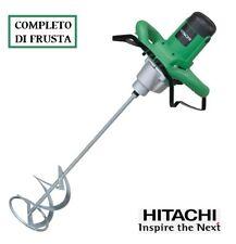 TRAPANO MISCELATORE ELETTRICO 1500 WATT HITACHI UM16VST completo con frusta