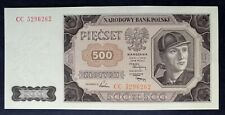 🍀 POLAND 500 ZLOTYCH. 1948 . Perfect ( New )  100 % UNCIRCULATED, UNC P-140