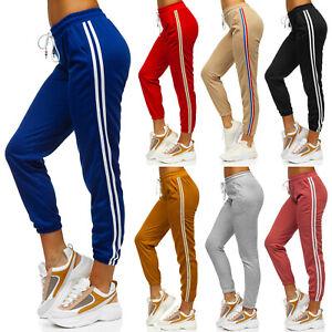 Joggerhose Sporthose Trainingshose Fitness Jogger Slim Fit Damen Mix BOLF Sport