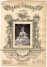 Lemercier et Cie, Paris-Théâtre, Blanche Adeline Pierson (1842-1919), actrice Vi