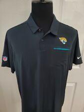 Nike Dri-Fit Jacksonville Jaguars NFL Golf Polo Men's Size XL