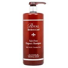 ROYAL MOROCCAN Sulfate-Free Organic Shampoo, 33.8 oz