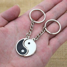 1Pair China Yin Yang Key Chain Key ring Key fobs For Best Friends Couples Gift