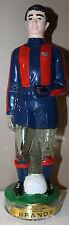 FC Barcelona Soccer Football Empty Destilerias Nogueras Comas Brandy Bottle 50cl