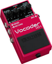 Used Boss VO-1 Vocoder Guitar Effects Pedal!