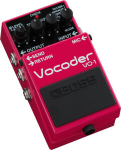 Used Boss VO-1 Vocoder Guitar Effects Pedal