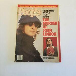 People Weekly Magazine February 23, 1987 The Murder of John Lennon
