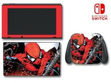Avengers Spider-man Spiderman Super Hero Game Decal Skin for Nintendo Switch