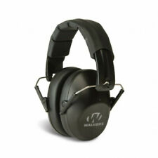 Walkers Pro Low Profile Folding Ear Muff -Black - Free Shipping