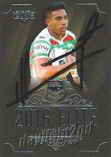 ✺Signed✺ 2016 SOUTH SYDNEY RABBITOHS NRL Card HYMEL HUNT