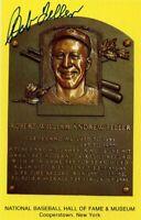 Bob Feller Autographed Hall of Fame Card