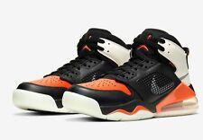 Jordan Mars 270 Black Orange Basketball Shoes Bq6508 008 Size 7 Y