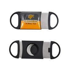 FOCUS Cohiba Plastic Guillotine Double Blade Cigar Cutter 55 Ring Knife Scissor