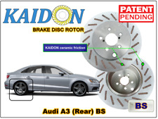 """AUDI A3 disc rotor KAIDON (Rear) type """"BS"""" / """"RS"""" spec"""