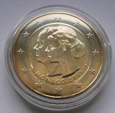 2€  Monaco Gedenkmünze 2011 Hochzeit Fürst Albert II und Charlene Sondermünze