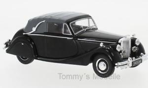 Jaguar MK V 3,5 Ltr. Cabrio schwarz 1950 - 1:43 IXO