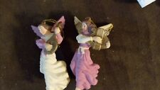 COLLECTIBLE PAIR OF ANGEL ORNAMENTS
