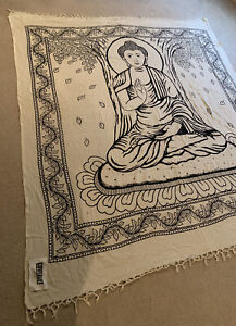 Urban Outfitters Buddha Coverlet Tapestry