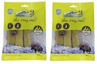 Himalayan Dog Chew XL - SET OF (2) 3 ct = 6 Long Lasting ( 65 lbs) FREE PRIORITY