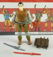 Original 1988 GI JOE BUDO V1 ARAH not complete figure UNBROKEN Cobra