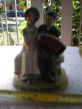 """Norman Rockwell Figurine - """"Lovers"""" August 30,1924 ~ 1979 S.E.P ~ Nr 207"""
