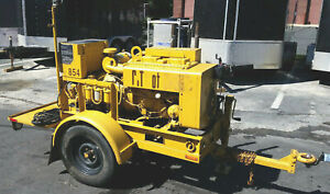 Onan / MILITARY 10kW Towable Diesel Generator (Model MEP-003A) (With 3395 Hours)