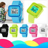 Children Boys Student Waterproof Sports Watches LED Digital Date Wrist Watch