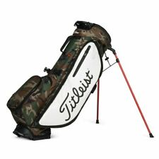New Titleist Golf Players 4 Plus Stand Bag Woodland Camo Limited edition
