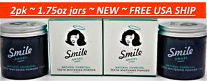 2pk Smile Angel Natural Activated Charcoal Teeth Whitener & Gum Powder 1.75oz k1