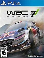 WRC 7 (Sony PlayStation 4, 2017) BRAND NEW