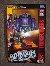 Transformers Generations War for Cybertron: Kingdom Leader Galvatron (Brand New)