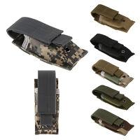 Tactical Mag Pouch Clip Single Magazine Pouch Bag Pistol Pouches Cartridge Clip