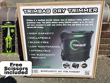 ORIGINAL TRIMBAG V2 Trimmer Dry Trimming Hydroponic, Spin Pro + FREE GIFT UK Sel