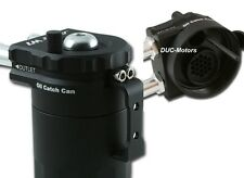 Öl-Auffangbehälter Oil Catch Tank Ölsammler schwarz internes Filtersystem BESTE