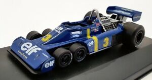 Altaya 1/43 Scale Model Car AL3105O - 1976 Tyrrell P34 6 Wheeler #3 - Blue