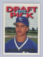 1995 Topps Traded #12T JUAN LeBRON (Carlos Beltran) UER (Royals) Rookie RC