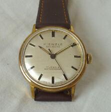 Uhr: alte Herrenuhr Kienzle Selecta 17j. gold Handaufzug 1965 Vintage