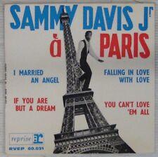 Tour Eiffell 45 tours Sammy Davis Jr à Paris