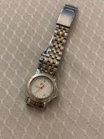 Lady WENGER Swiss Army #79095 Two Tone Stainless Steel