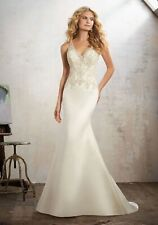 Morilee Maria Wedding Dress 8121 Size 6 New with Tags