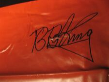 B.B. KING 30x40 Autographed in person BURGER KING WINDOW STATIC 2002 Rare 1 of1?